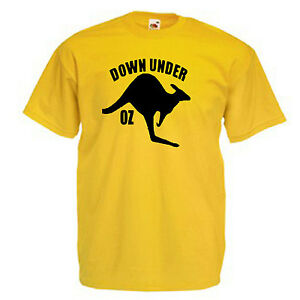 Australia-Kangaroo-Adults-Mens-T-Shirt