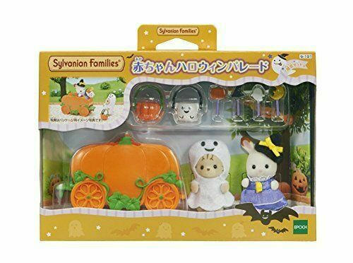Epoch Calico Critters baby Halloween parade Se-192