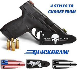 QuickDraw-Gun-Magnet-Mount-Holster-Holder-Handgun-Glock-Shotgun-Mag-Punisher