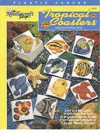Tropical Coasters Plastic Canvas Soft Cover Leaflet