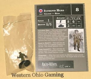 Axis-amp-Allies-Miniatures-Reserves-Intrepid-Hero-2-45-NEW-A-amp-A