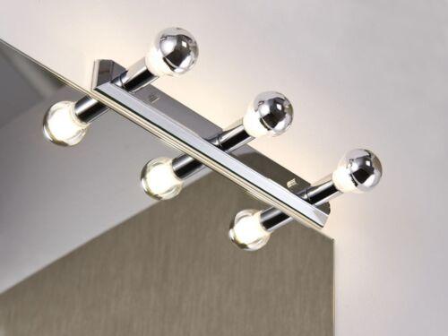 Paulmann Spiegelleuchte Regula max.3x40W E14 Chrom Metall Lampe Leuchte NEU