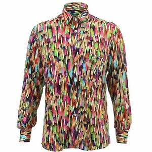 Camicia Colori Regular Da Loud Originals Rétro Viola Uomo pqn14pB