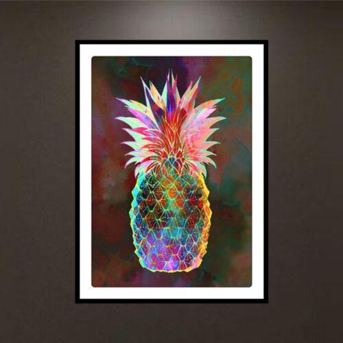 DIY 5D Diamond Embroidery Painting Pineapple Cross Stitch Kit Crafts Home Decor