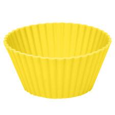 6Pcs DIY Silicone Round Cup Cake Muffin Cupcake Egg Tart Case Baking Mould Pan