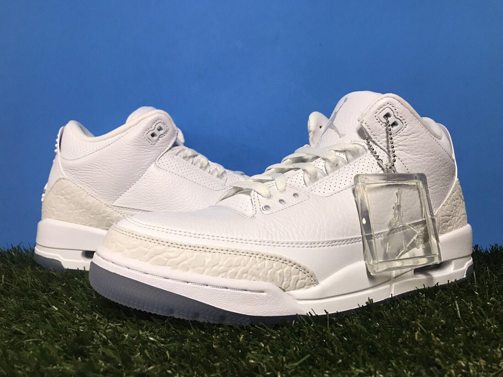 Nike Air Jordan 3 III Retro Pure White