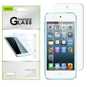 Apple-New-iPod-Touch-5-6th-Gen-Tempered-Glass-Screen-Protector-Protective-Guard