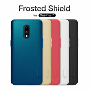 Pour-OnePlus-7-NILLKIN-Super-Frosted-Shield-Matte-Plastique-Rigide-Hard-Case-Cover