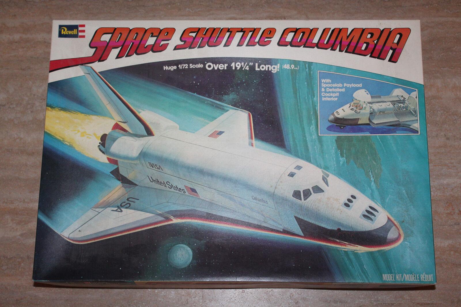 Revell H-4702 Space Shuttle Columbia 1 72 NEU OVP RAR  | Bequeme Berührung