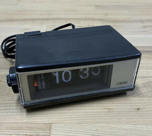 Vintage-Cosmo-F-101-Time-Corp-Lighted-Flip-Alarm-Clock-Electric-Pre-Owned-Workin
