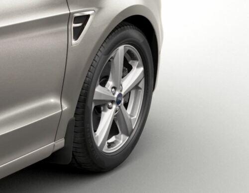 Genuine Ford Galaxy MK3 Front /& Rear Mud Flaps Contoured 2015