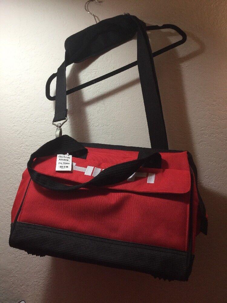 HILTI Heavy Duty Contractors Canvas Tool Bag Shoulder Strap 16