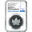 2019-Modified-Proof-5-Silver-Canadian-Maple-Leaf-NGC-PF70-Blue-ER-Label-Pride-o miniature 1