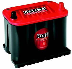 OPTIMA RedTop AGM Spiralcell Automotive Battery, Group Size 35 Red