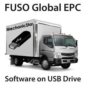 mitsubishi fuso truck global parts catalog epc 2014 ebay rh ebay com
