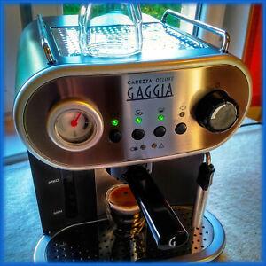 Gaggia Carezza DeLuxe - Espresso Coffee Machine, 15 Bar 1900W