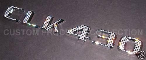 CLK 430 Crystal Emblem Badge MERCEDES BENZ CLK-Class