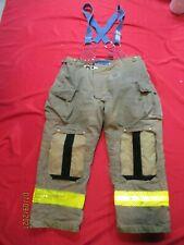 Mfg 2013 Morning Pride 42 X 31 Fire Fighter Turnout Pants Bunker Gear Suspenders