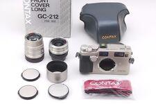 Contax G2 35mm Rangefinder Film Camera w/Biogon 28mm F2.8 T,Sonnar 90mm  #B07001