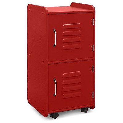Kidkraft 14322 Kids Medium Toy Storage Locker Red NEW