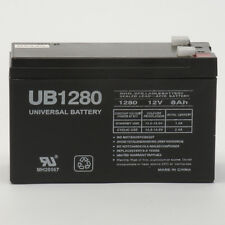 UPG 12V 8AH SLA Battery replaces WKA12-8F2 DJW12-8HD TPH12080 F2