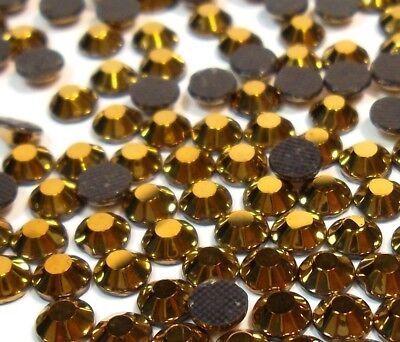 1500 HOTFIX STRASS 2 mm ss6 or Verre Cintres pierres glitzersteine Best 3