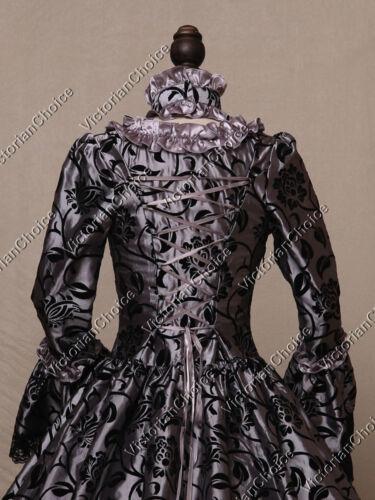 Renaissance Gothic Fantasy Ball Gown Dress Reenactment Theater Steampunk 119
