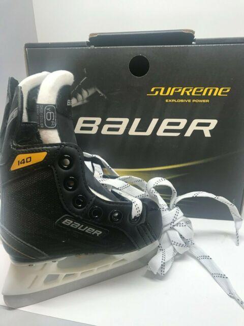 BAUER S 140 SUPREME ICE Hockey SKATES  Size 6 YOUTH   YTH 6.0 R   NEW