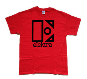 ELEKTRA-classic-West-Coast-record-label-tribute-T-shirt
