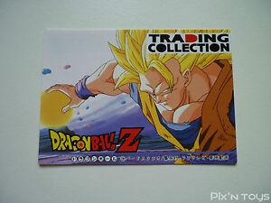 Carte Dragon Ball Z Trading Collection Memorial Photo Checklist 3 DBZ NEW