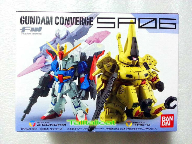 Bandai FW Gundam Converge SP 06 Set Z Gundam & The-O