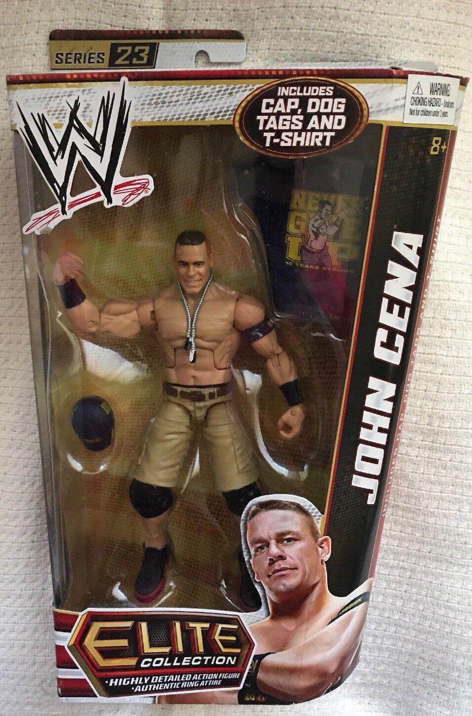 Mattel WWE Elite 23 John Cena