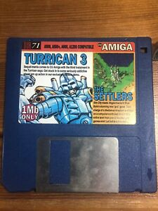 CU-Amiga-Magazine-Cover-Disk-71-Turrican-3-The-Settlers-TESTED-WORKING