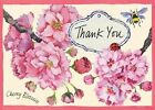Cherry Blossom Garden Parcel Thank You Notes 9780735333963 Galison Books 2011