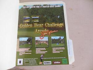 GOLDEN-BEAR-CHALLENGE-ARCADE-GAME-FLYER