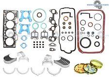 87-94 Toyota Tercel 1.5L SOHC 3E 3EE Full Set Piston Rings Main Rod Bearings Set