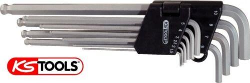KS-Tools Innensechskant Winkelschlüssel Satz 10tlg 1,5-10mm 6-kant 151.3200