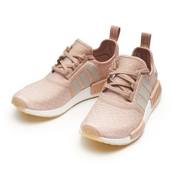 ADIDAS NMD R1 SHOES PINK/WHITE CQ2012   Donna SZ 5-11