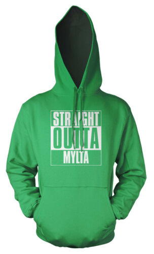 PUBG Player Unknown Battlefield Straight Outta Mylta adult Hoodie