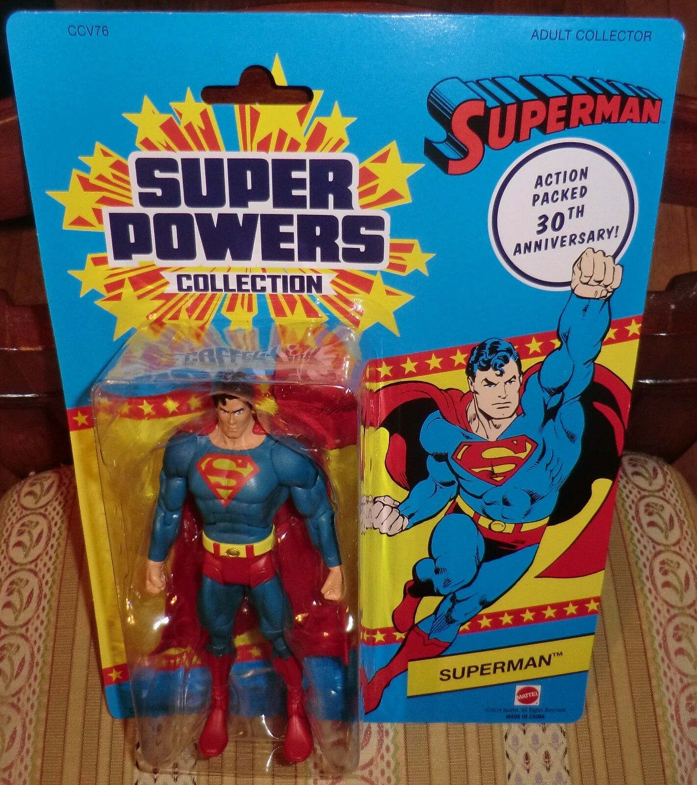 DC 30TH ANNIVERSARY SUPER POWERS COLLECTION SUPERMAN  MATTY EXCLUSIVE  6
