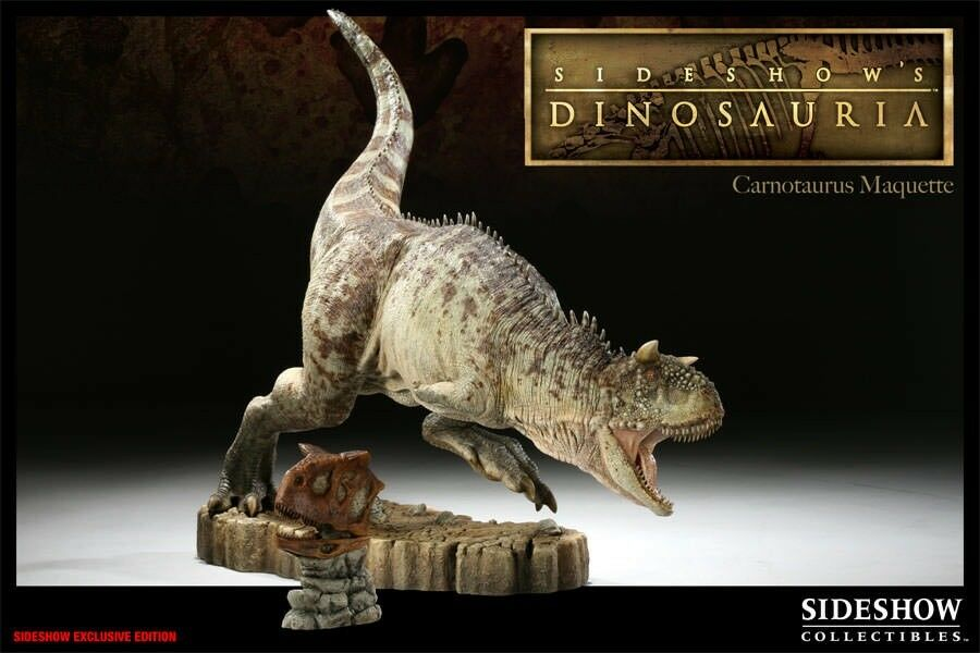Sideshow Dinosauria Carnotaurus Maquette Exclusive  2000161 new sealed