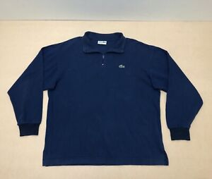 13db4a6f789 Lacoste Jumper Sweater Mens ~ Size Small ~ Great Cond 1/4 Zip Up ...