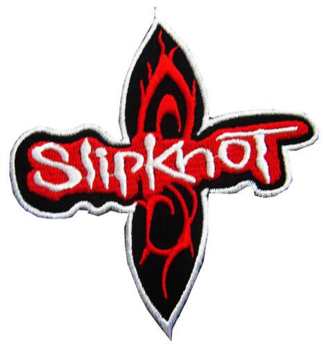 i13 3.5 x 4 in Nouveau Slipknot Rock Band brodé Iron On Patch environ 10.16 cm
