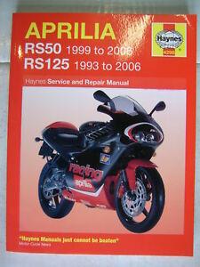 Aprilia RS 50 Extrema//Replica 2002 Haynes Service Repair Manual 4298
