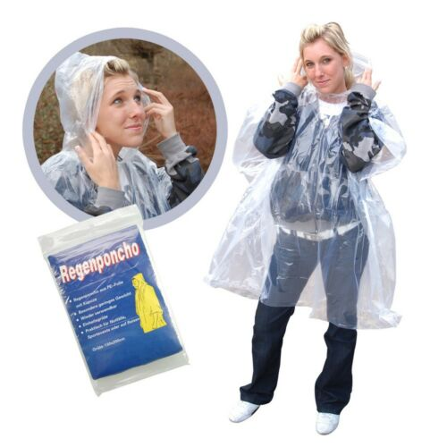 Pioggia Poncho/emergenza poncho/pioggia giacca-NUOVO