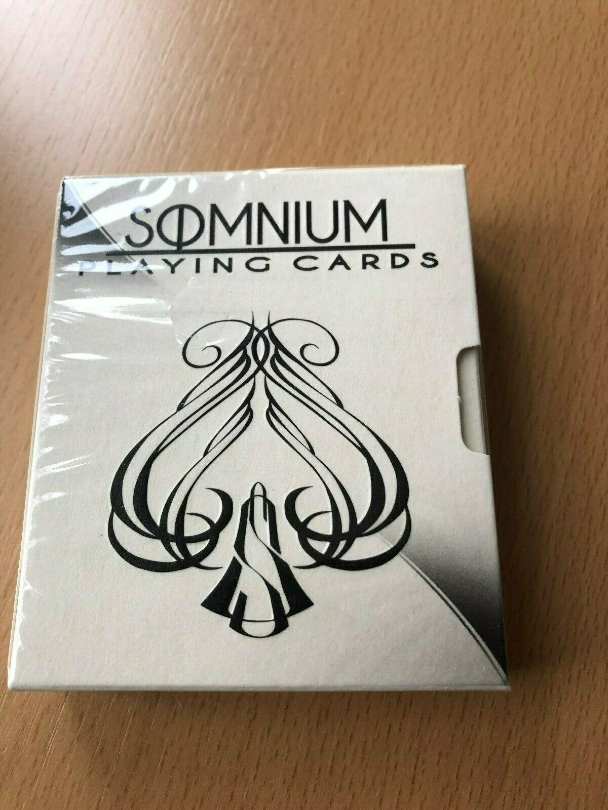 Somnium Playing Cards Shadow Edition 2018 in Spezialschachtel neu