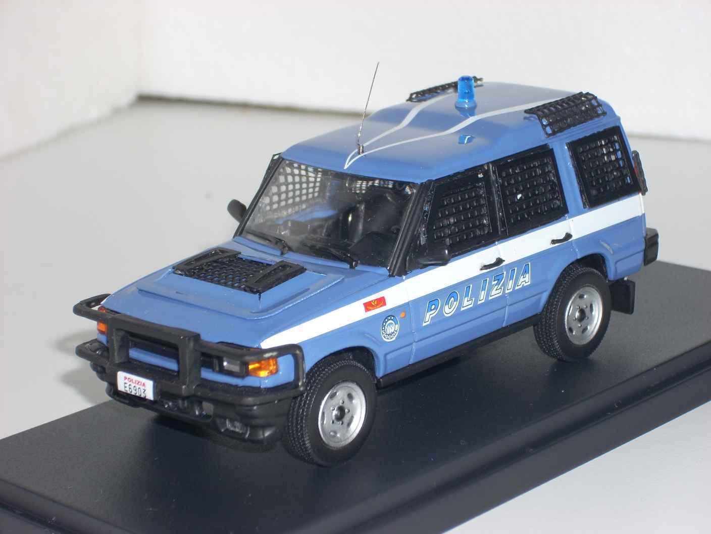 POLIZIA POLICE Land Rover Discovery II ordine pubblico scala 1 43