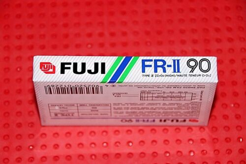 SEALED 1 FUJI   FR II  90      BLANK CASSETTE TAPE