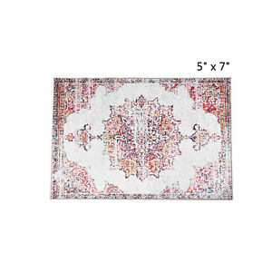 Traditional Oriental Distressed Area Rugs Carpet 5x7 Floor