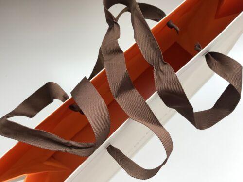 New Genuine BCBG MAXAZRIA Signature Shopping PAPER Tote GIFT BAG w//Ribbon straps